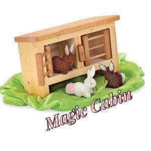 Magic Cabin Rabbit Hutch make-believe adventures
